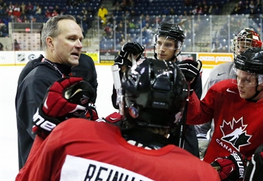 Canada names junior coach