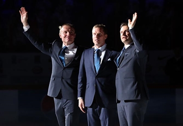 Finnish super trio honoured