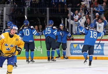 Finland going for gold